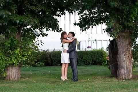Интересная бюджетная свадьба своими руками