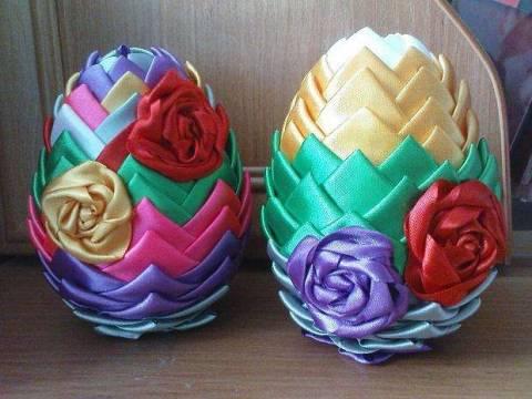 Пасхальные яйца в стиле артишок