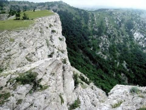 Горная вершина Демир-Капу