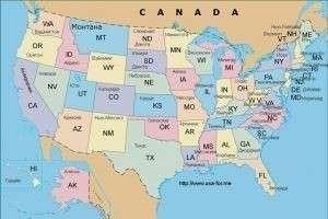 Сколько штатов в США: полный список в алфавитном порядке