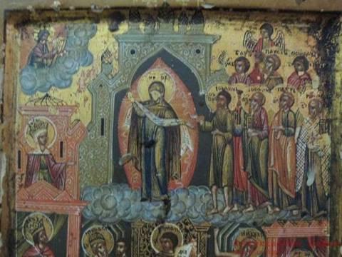 Описание икон Пресвятой Богородицы: Покров, Успение и Афонской