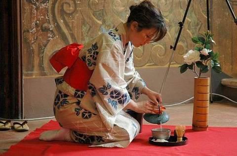 Японские традиции чайной церемонии