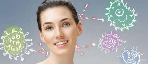 Как лечить дисбактериоз, проявляющийся в виде прыщей на лице?