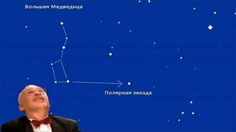 Как найти на небе полярную звезду?