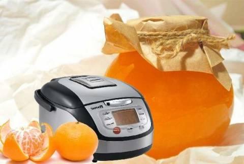 Как приготовить варенье из мандаринов в мультиварке?