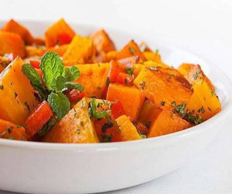 Как приготовить вкусный салат из тыквы