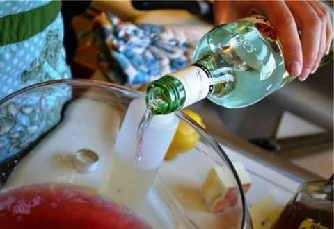 Как сделать пунш из шампанского?
