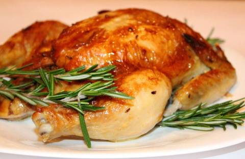 Как замариновать курицу для запекания в духовке целиком?
