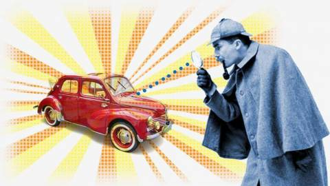 Какая вероятность найти угнанный автомобиль?