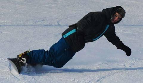 Катаемся на сноуборде: техника карвинг