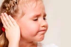 Экссудативный средний отит у детей