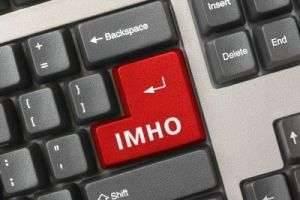 Что такое ИМХО и кто его придумал
