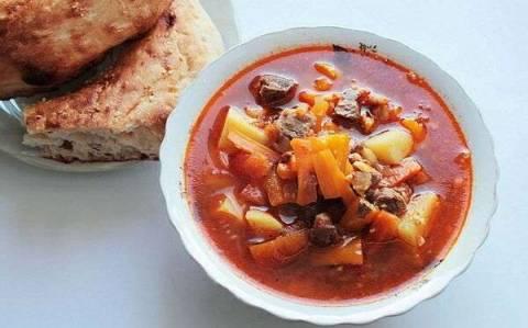Рецепт лагмана по-узбекски в домашних условиях из говядины фото