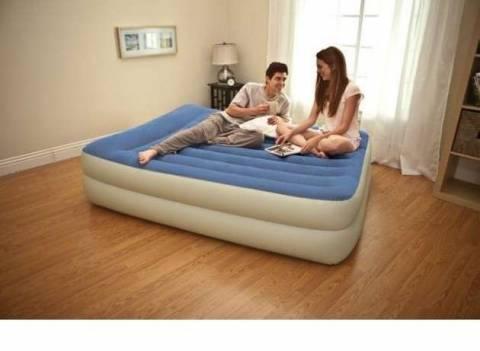 Как выбрать надувной матрас для сна