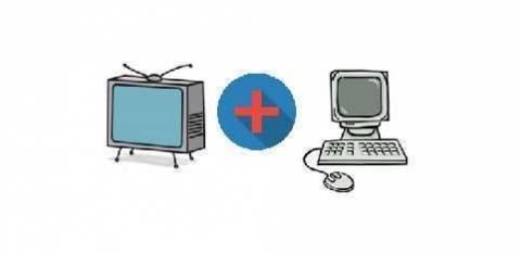 Несколько способов подключить телевизор к компьютеру