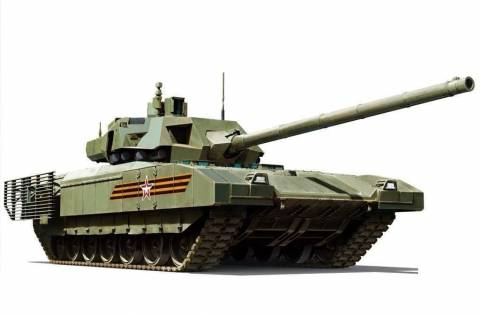 Описание и характеристика танка Армата