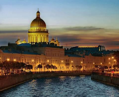Петербург – город белых ночей
