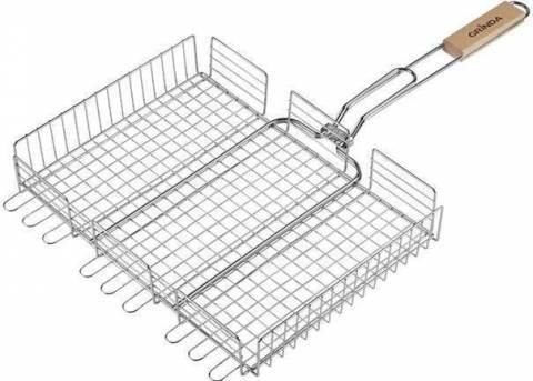 Решетка для шашлыков: её выбор по размеру, материалу и не только