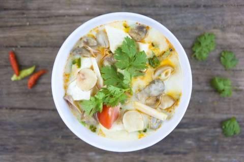 Рецепт приготовления супа том кха гай