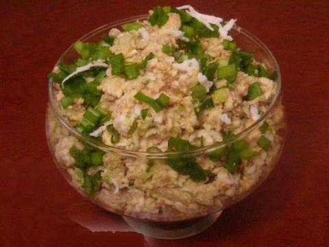Рецепты печени трески с яйцом и луком