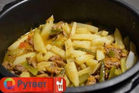 Рецепты приготовления азу по-татарски в мультиварке