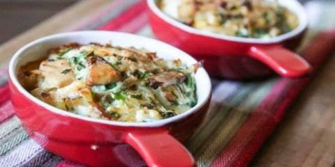 Фриттата с овощами в духовке