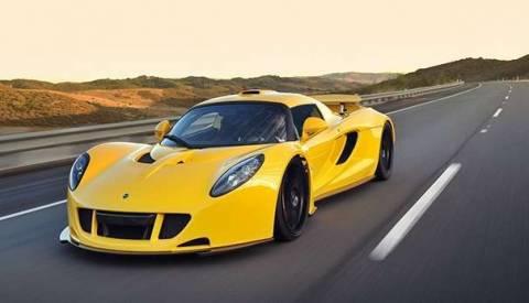 ТОП 10 самых быстрых машин в мире