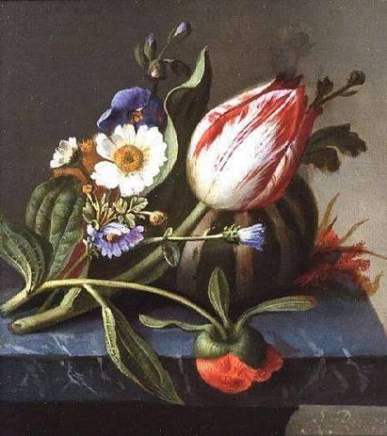 Рашель Рюйш  и ее прекрасные картины