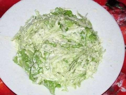 Варианты салатов из редьки с майонезом и сметаной