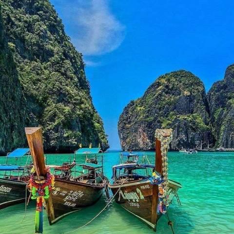 1 день в бухте Майя Бэй: Таиланд