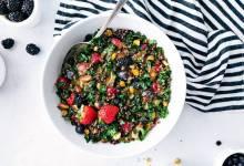 Рецепты вкусных салатов для тех, кто придерживается здорового питания