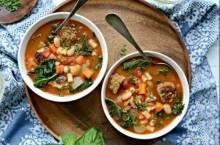 Итальянские овощные супы «Минестроне»