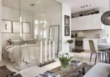 Новое в дизайне или как выполнить зонирование комнаты декоративными панелями?
