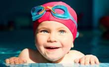 Как научить ребенка плавать в 3 года?