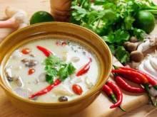 Оригинальные рецепты супов из кокосового молока