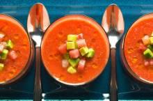 Холодный суп гаспачо: традиционные рецепты