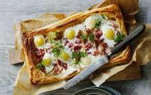 Красивая выпечка из слоеного теста: яркие и вкусные идеи на завтрак