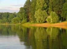 Отдых в Подмосковье: Истринское водохранилище