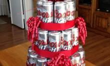 Торт из пива на 23 февраля: создание оригинального подарка своими руками
