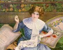 Вышивка лентами: история возникновения