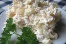 Как приготовить вкусный салат из шампиньонов и ананасов