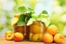 Приготовление персикового компота