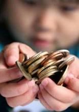 Можно ли давать ребенку деньги?