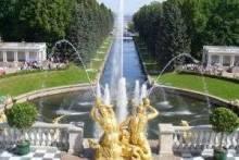 Фонтаны Петергофа: их история, описание римских, фонтанов-шутих и не только