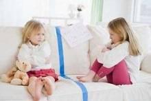 Детские ссоры. Что делать?