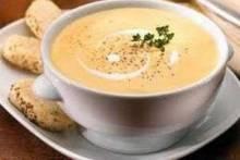Как приготовить крем-суп из шампиньонов со сливками и чем крем-суп отличается от супа-пюре