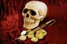 Как сделать череп из папье-маше и маску черепа из бумаги?