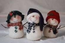 Как сделать снеговика своими руками из пластиковых бутылок, резинок и бумаги, как его нарисовать?