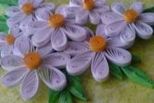 Цветы в технике квиллинг: розы, ромашки, подсолнухи