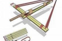Как сделать арбалет из карандашей — переменка, или Офисный антидепрессан